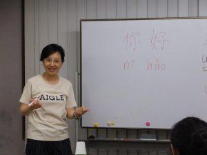中国語講師 ヤン・リエンさん